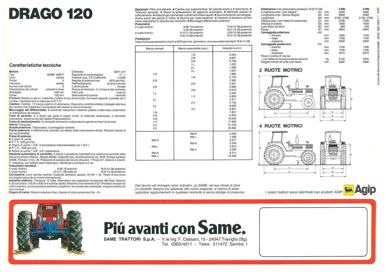 DRAGO 120