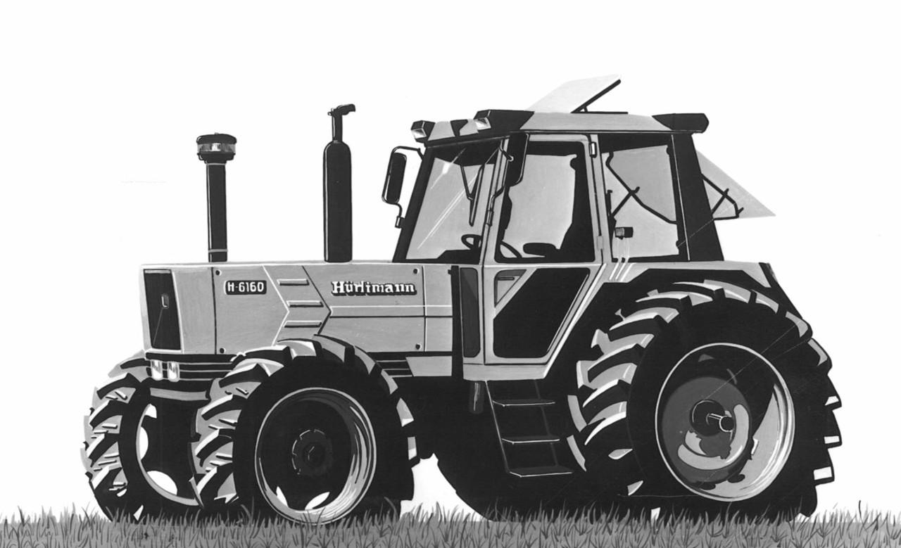 Trattore Hürlimann H-6160