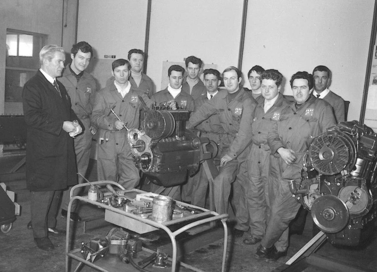 Corso aggiornamento meccanici - Gruppo belga