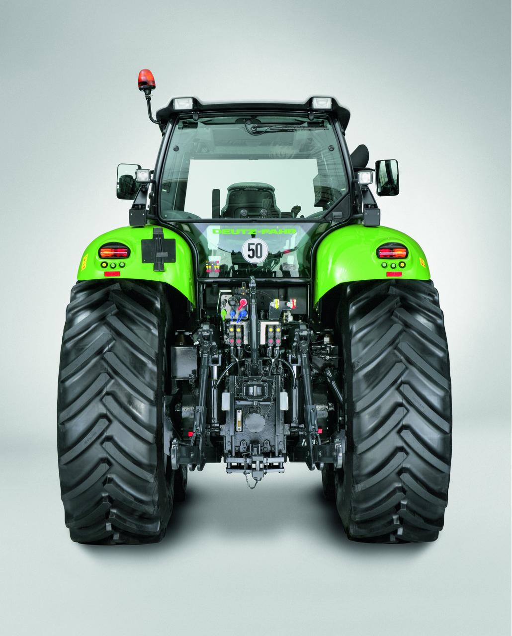[Deutz-Fahr] trattore Agrotron X 720 vista posteriore