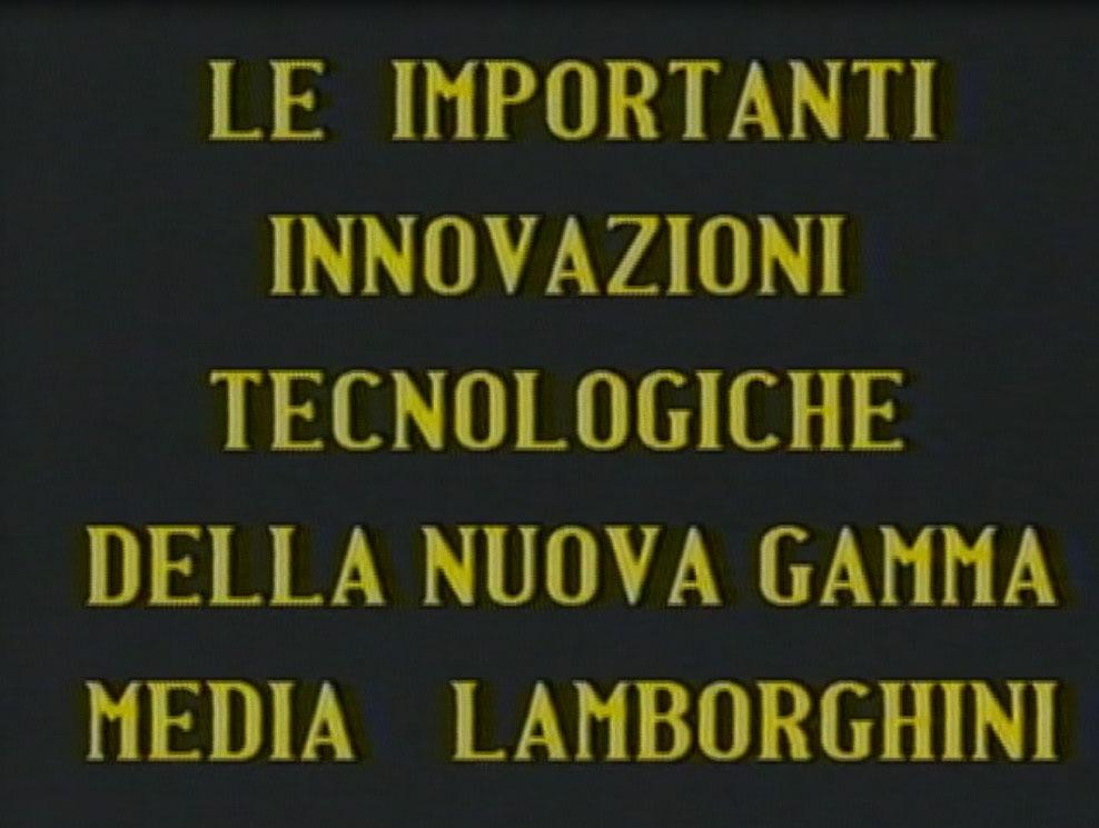 Le importanti innovazioni tecnologiche della nuova gamma media Lamborghini