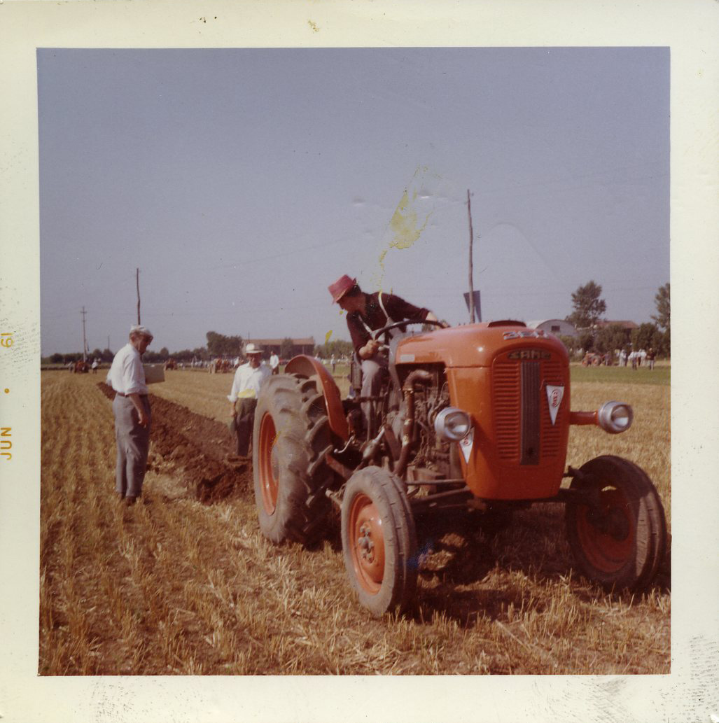 [SAME] prove in campo del trattore 360