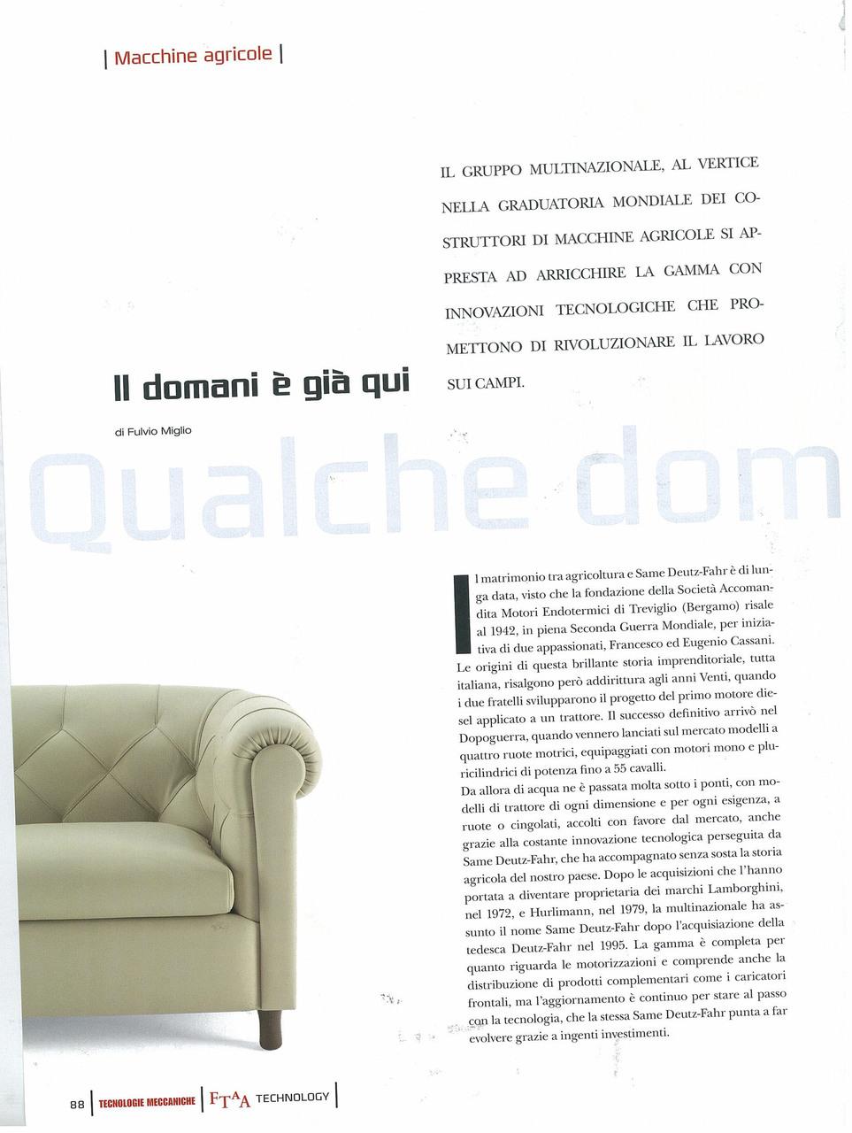 Qualche domanda a Massimo Ribaldone
