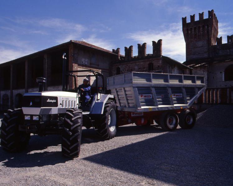 Trattori Same, Lamborghini, Hürlimann e Deutz-Fahr prove in campo