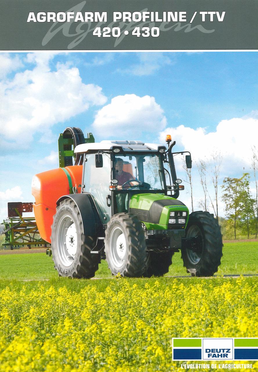 AGROFARM PROFILINE / TTV 420 - 430
