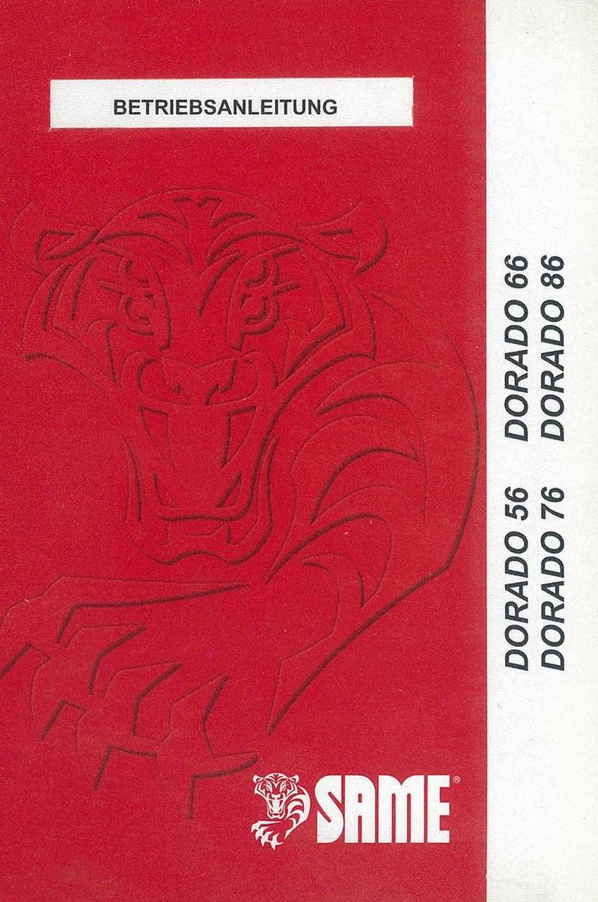 DORADO 56-66-76-86 - Bedienung und instandhalthung