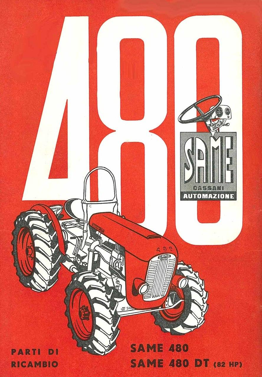 480-480 DT - Catalogo Parti di Ricambio