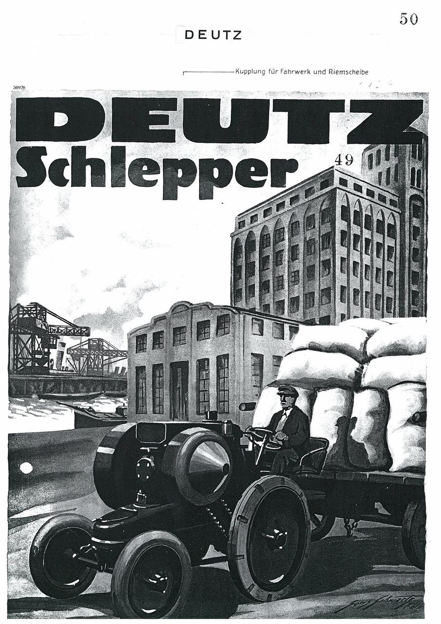 DEUTZ Schlepper MTH222