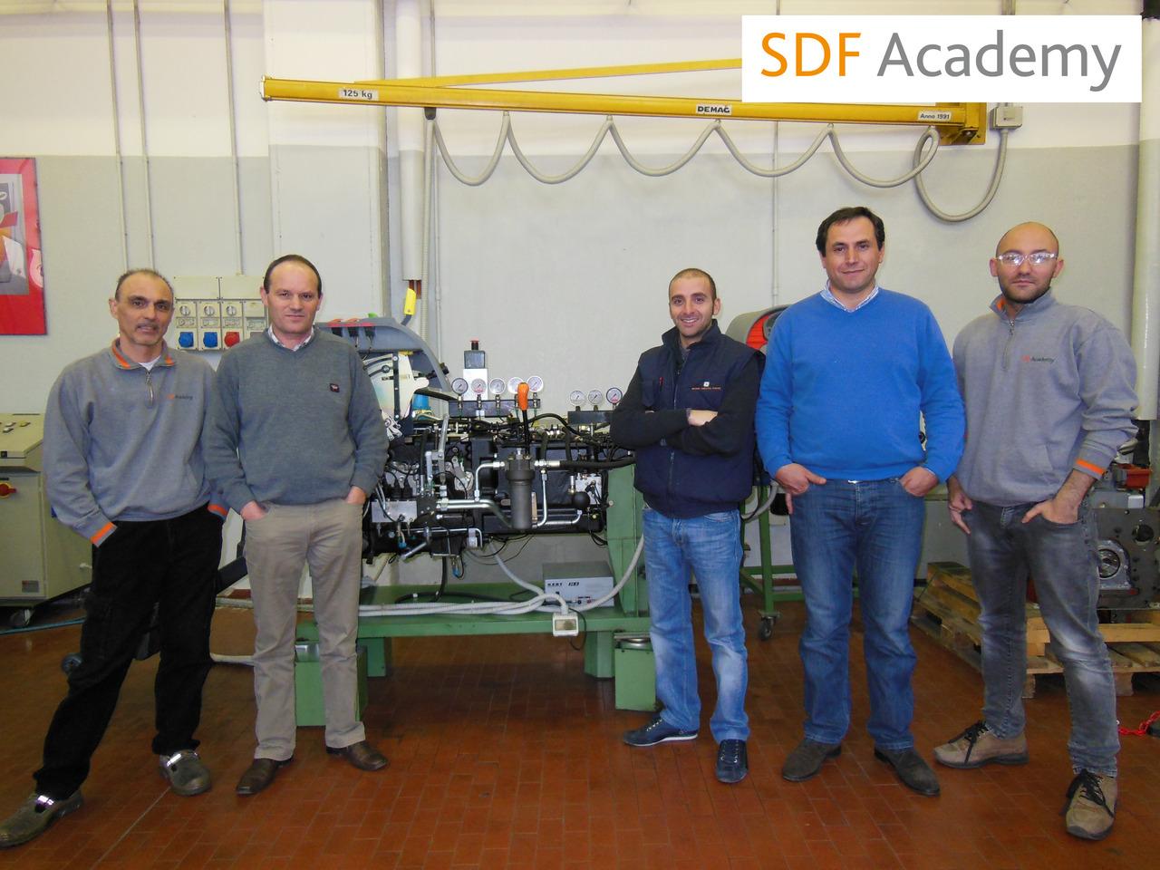 SDF Academy - Corso con tecnici portoghesi