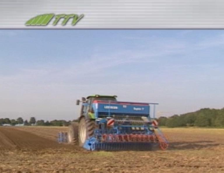 Deutz-Fahr Agrotron TTV 1160 mit Sämaschine