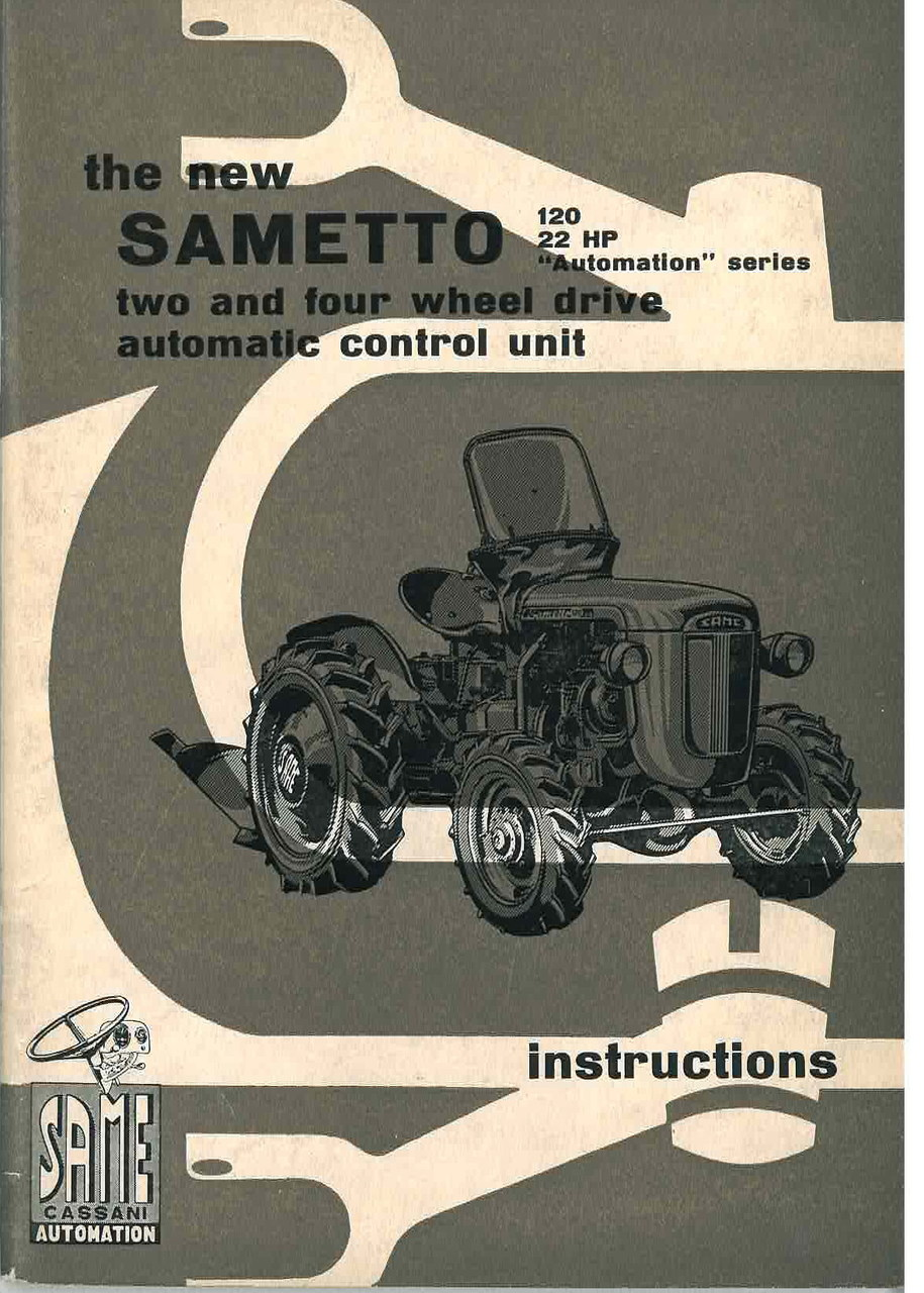 THE NEW SAMETTO - Operating and maintenance