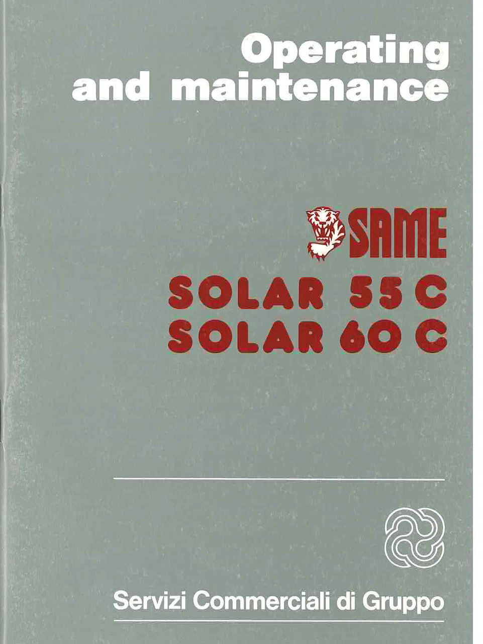 SOLAR 55 C - 60 C - Operating and maintenance