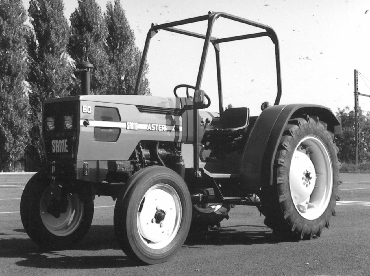 Trattore SAME Aster 60 con le 2 ruote motrici