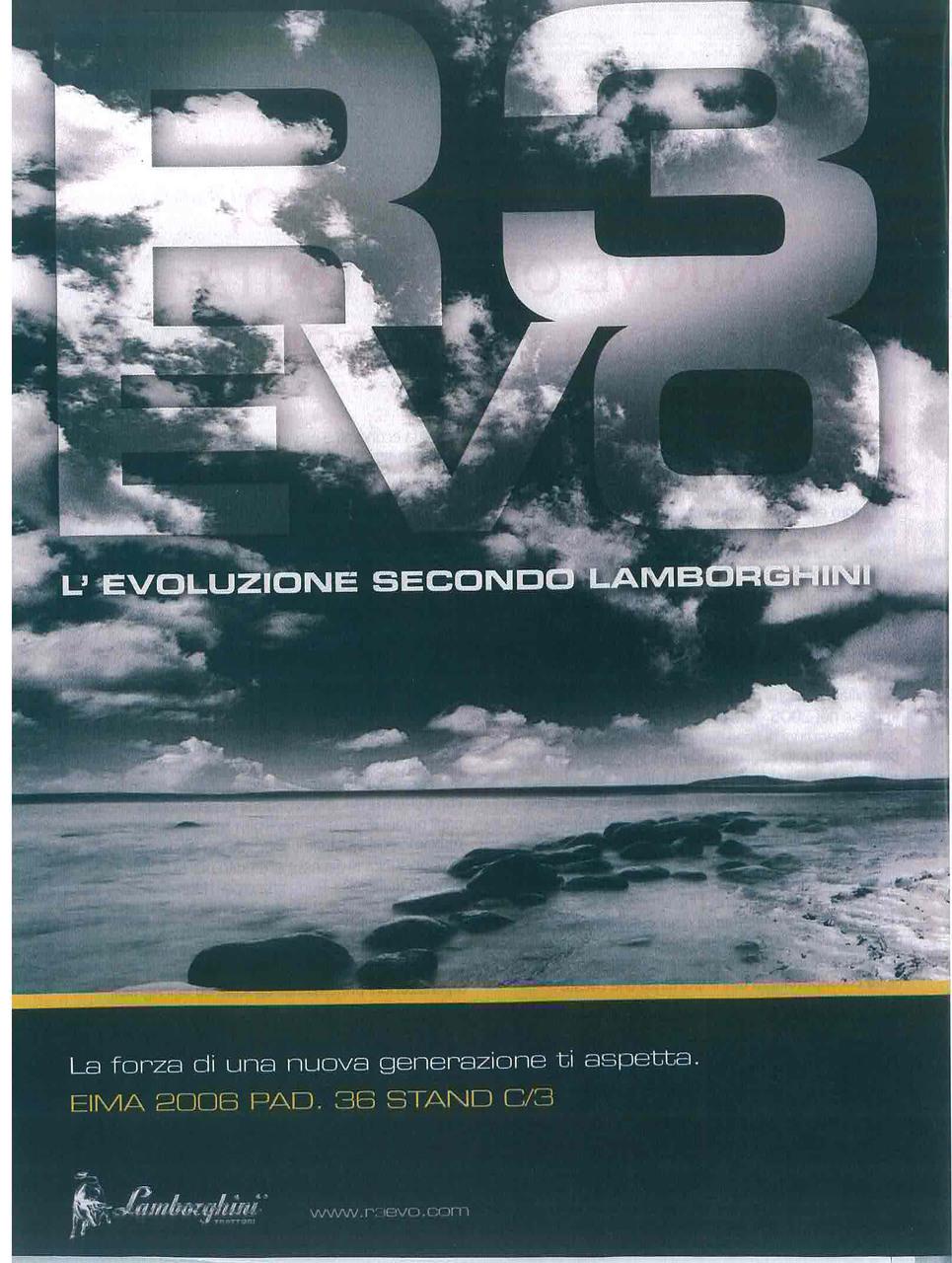 R 3 Evo L'evoluzione secondo Lamborghini