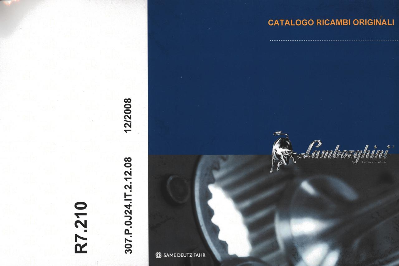 R7.210 - Catalogo ricambi originali