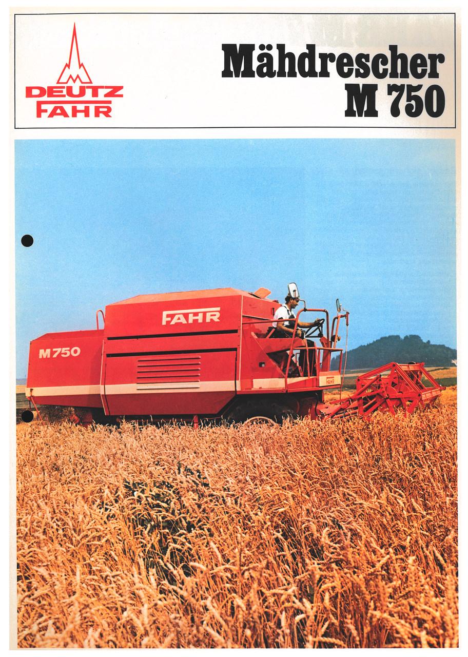 MÄHDRESCHER M 750