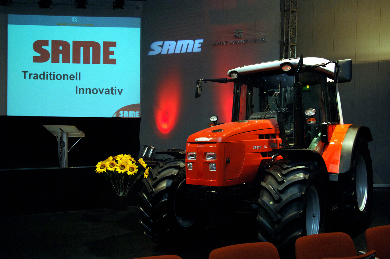 Convention Same con trattore Silver 110