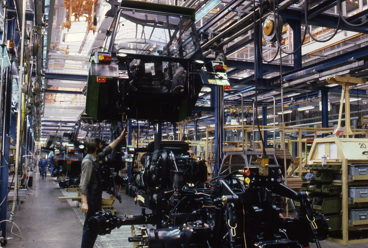 Vecchia fabbrica Deutz-Fahr a Colonia