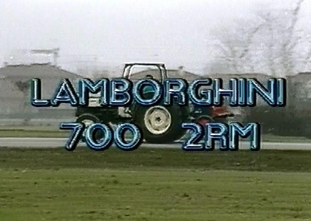 Lamborghini 700 2RM
