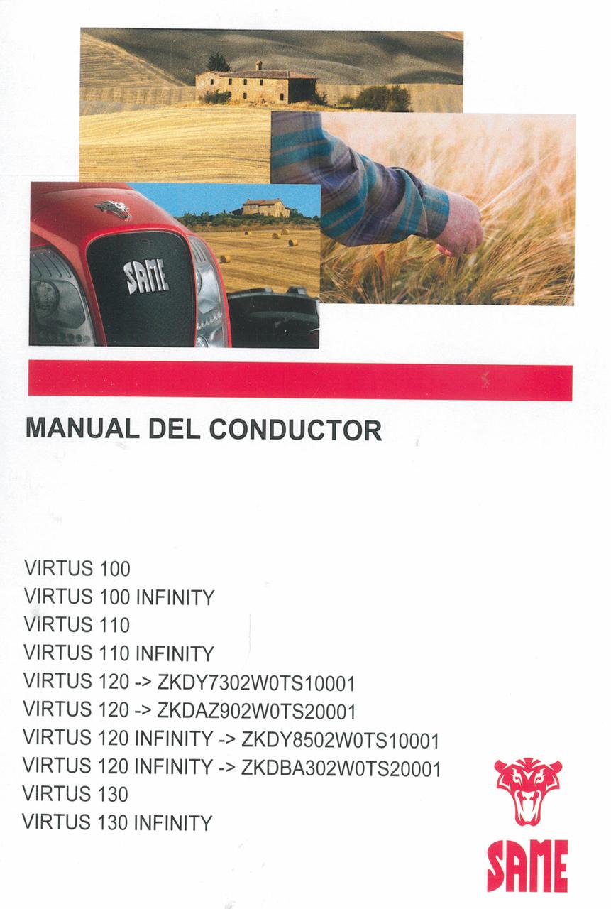 VIRTUS 100 - VIRTUS 100 INFINITY - VIRTUS 110 - VIRTUS 110 INFINITY - VIRTUS 120 ->ZKDY7302W0TS10001 - VIRTUS 120 ->ZKDAZ902W0TS20001 - VIRTUS 120 INFINITY ->ZKDY8502W0TS10001 - VIRTUS 120 INFINITY ->ZKDBA302W0TS20001 - VIRTUS 130 - VIRTUS 130 INFINITY - Manual del conductor